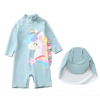 Myy23-6 Gris Verde unicornio de una sola pieza