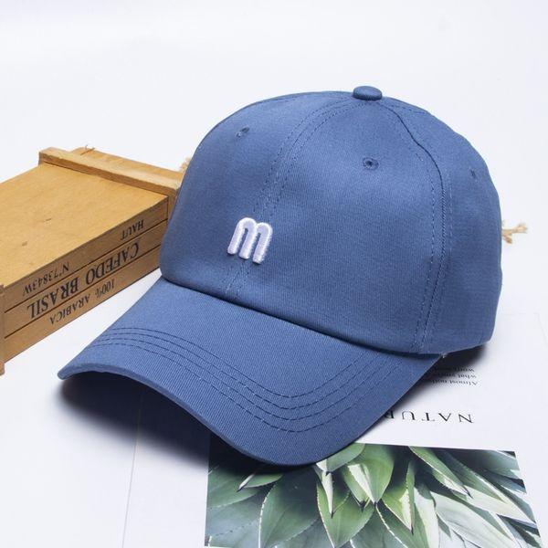 Tridimensional bordado M-azul-6 1 /