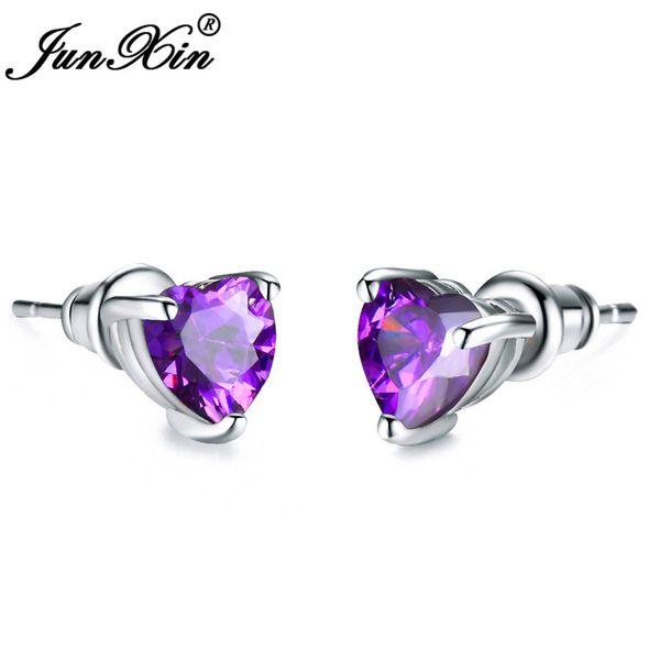 Purple Earrings