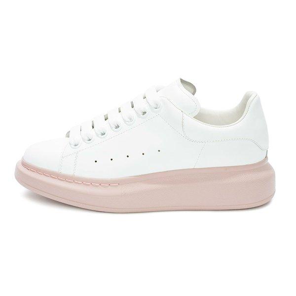 белый розовый