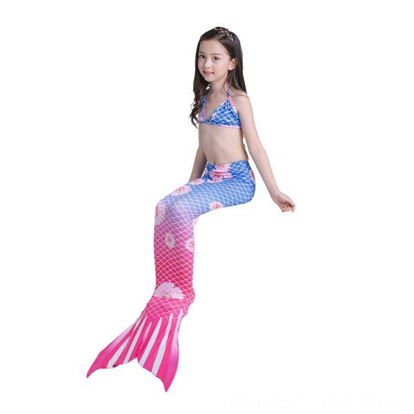 Yy8195-Biquini vermelho Lan Juhua Mermaid Swim