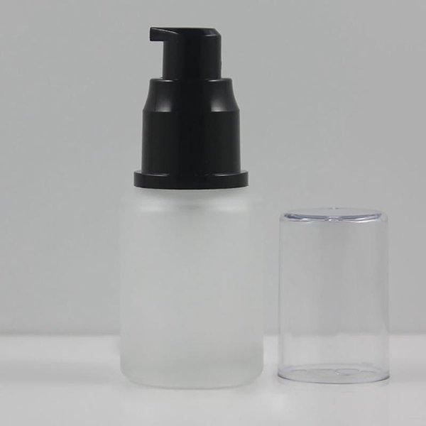 pompe lotion givré 30ml verre