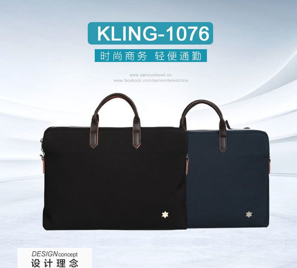 best selling The new Korean handbag 2020 the new young men's business trip skew cross dual purpose men's bag A briefcase