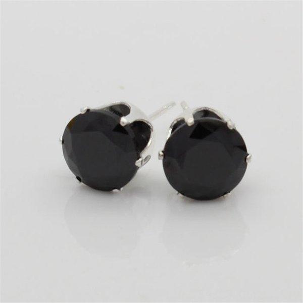 Яркий черный циркон-4мм (мм)