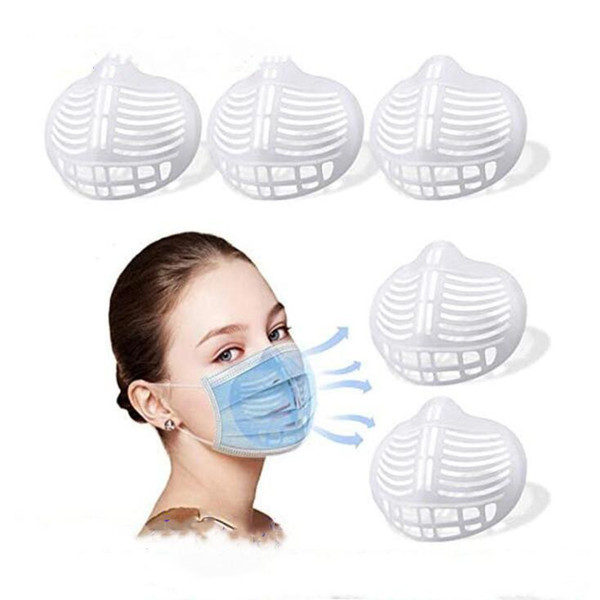 best selling Silicone Mask Bracket Lipstick Protection Stand Mask Inner Support Enhancing Breathing Smoothly Masks Protection Frame Tool Accessory YL105