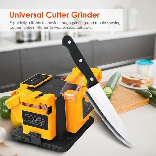 best selling 3in1 Multifunction sharpener Household Grinding Tool sharpener drill for knife Twist drill HSS drill scissor chisel 220V