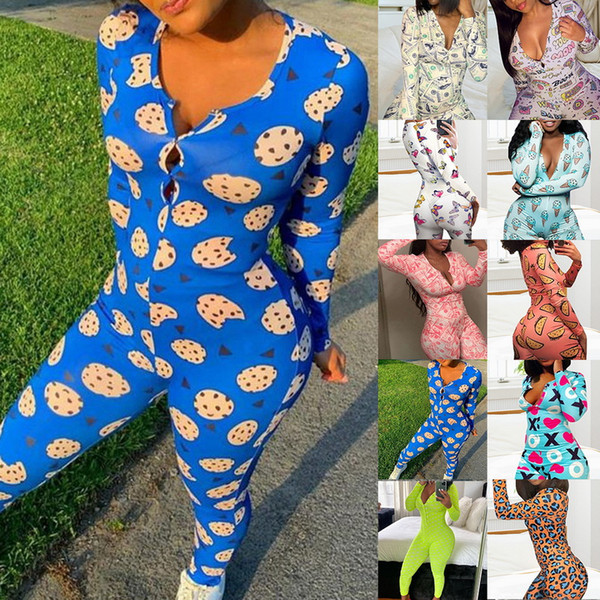 top popular Pajamas for Women Onesie for Adults Sleepwear Pijama Sexy Mujer Onsie Women's Underwear Plus Size Lingere Christmas Pajamas Warm 2020