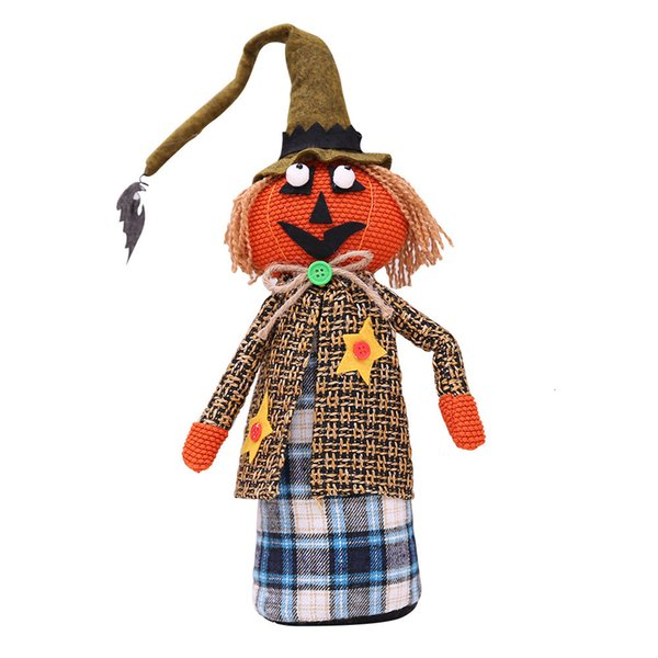 Halloween long Hat Doll Style de citrouille