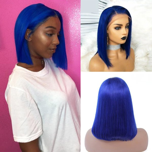 Azul China T Parte Lace Wig 12inches