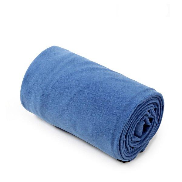 Single velvet D blue
