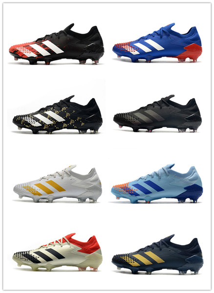 best selling Predator Mutator 20.1 20+ FG soccer shoes low Tormentor sneakers football cleats boots youth kids adult trainers cleat boot sneaker trainer