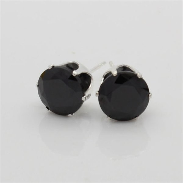 Яркий черный циркон-8мм (мм)