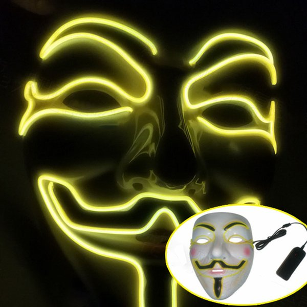 Желтый маска