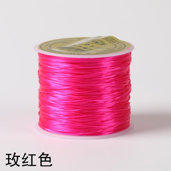 Rose Pink-importato Stretch linea (50 M)
