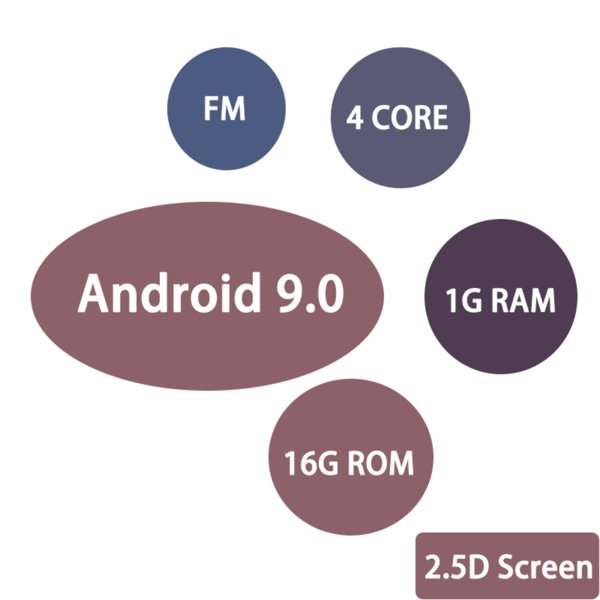 China Android 9 Quad Core