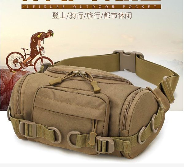 best selling Multi-Purpose Tool Holder EDC Pouch Bag Military Nylon Utility Tactical Waist Pack Camping Hiking