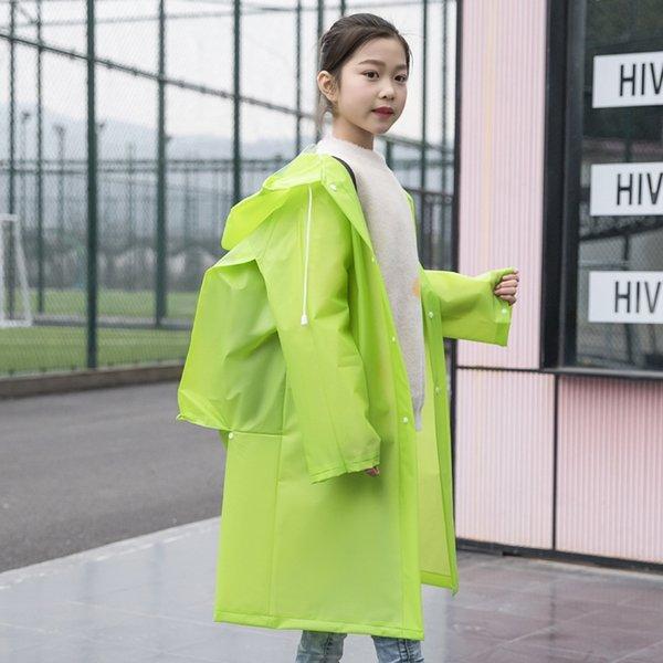 Green-с Schoolbag-мальчиками и девочками