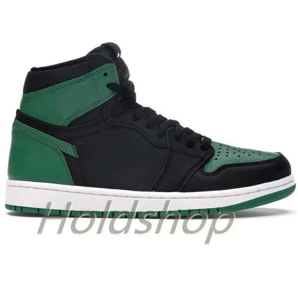 1S- Pine Green Black
