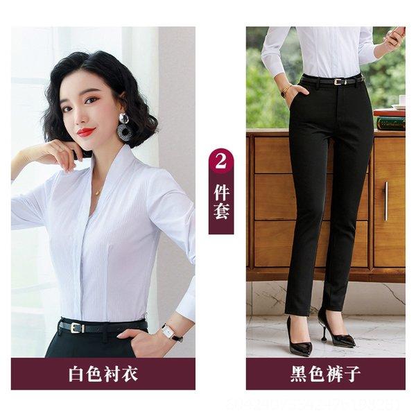 Calças pretas Camisa branca +