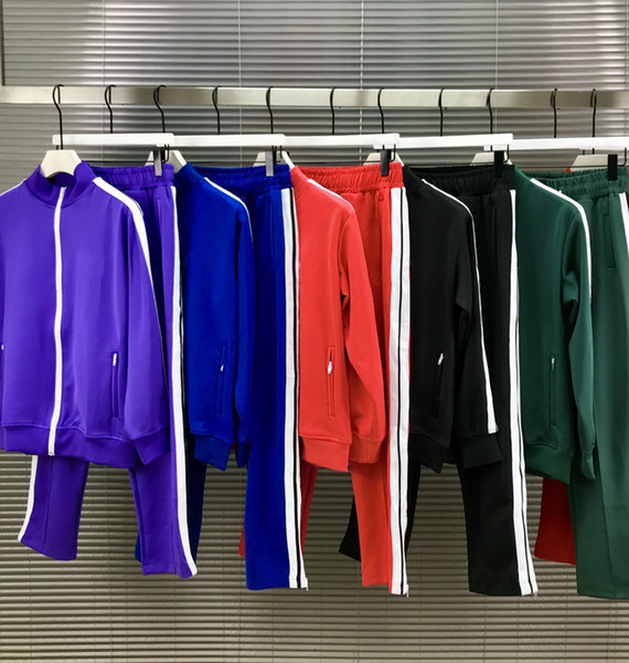 top popular Man designers clothes 2020 mens tracksuit mens jacket Hoodie Or pants men s clothing Sport Hoodies tracksuits Euro Size S-XL PA2578 2021