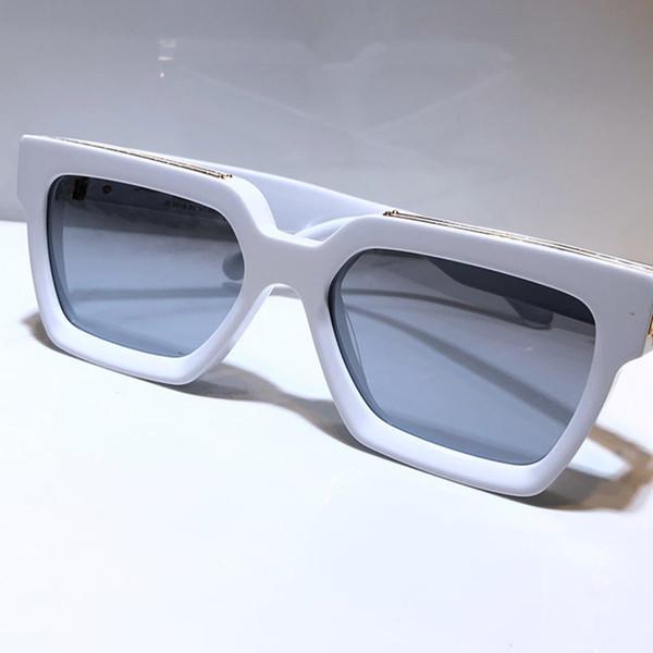 Weißgold Rahmen Silber Spiegelobjektiv