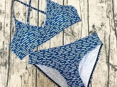 Bikini Micro blu