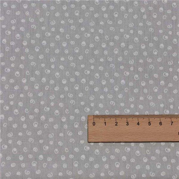Graue Locken-200x160cm 2m