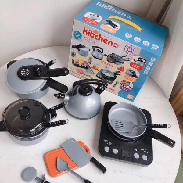 Kitchen Play House Set of 36 Pieces