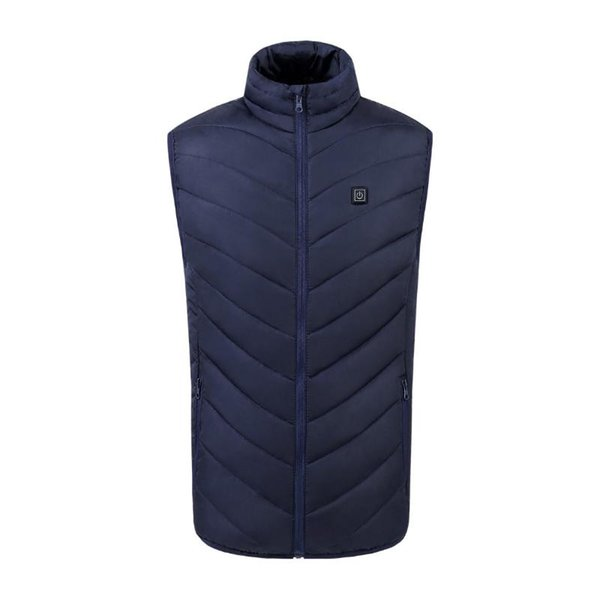 blue Heated vest