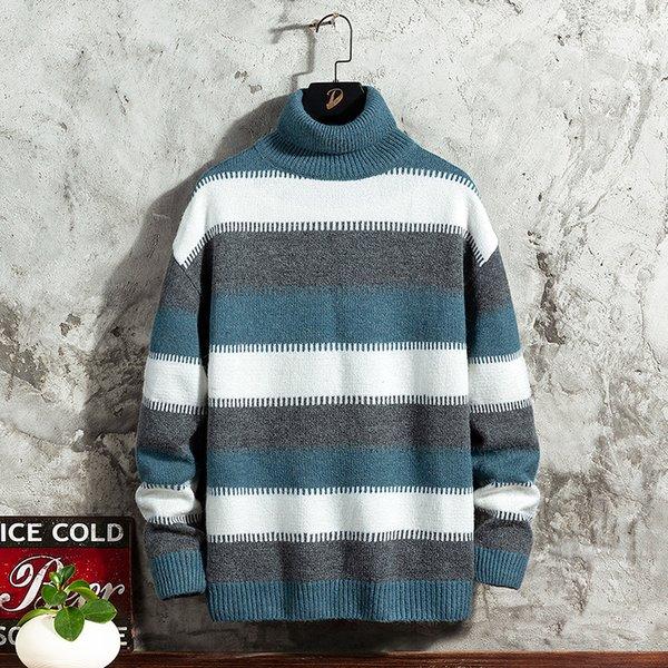 Suéter azul Hombres