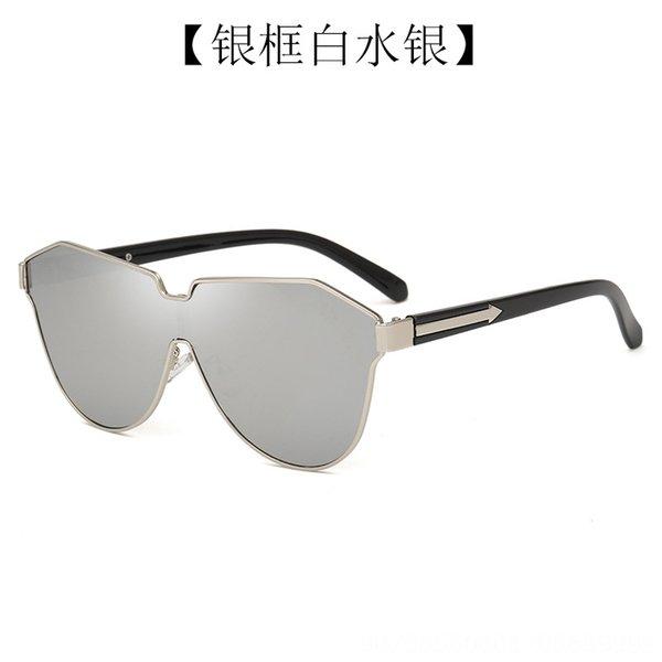 Silver Frame White Mercury-C06z-2-c709