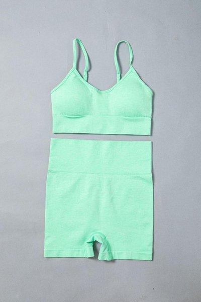 Green Bra Short