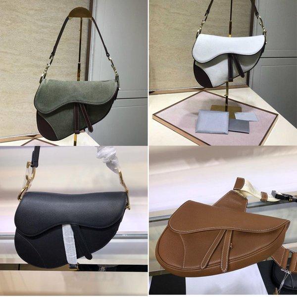 best selling saddle new Manufacture Europe and America Saddle Bag high quality black Genuine Leather Chest bag Crocodile pattern Crossbody Handbag
