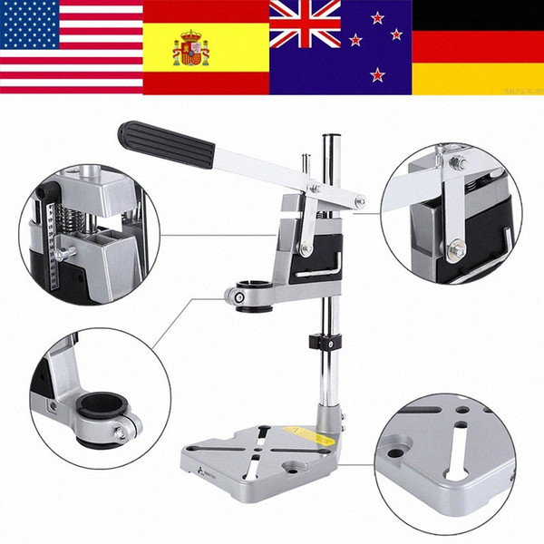 best selling Universal Bench Clamp Drill Press Stand Workbench Repair Tool for Drilling rotary tool accessories drill stand soporte taladro jY3s#