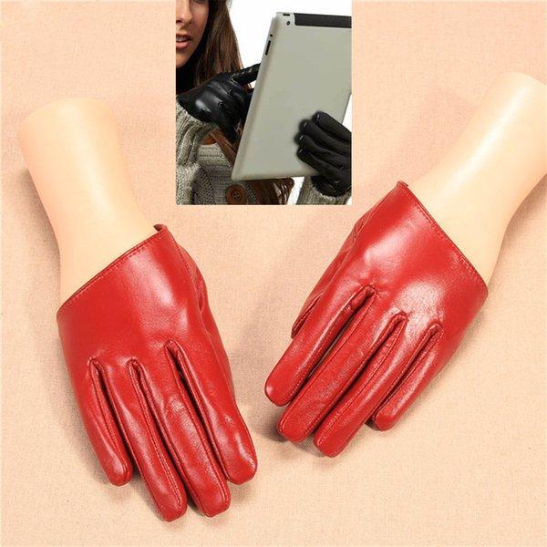Écran tactile rouge