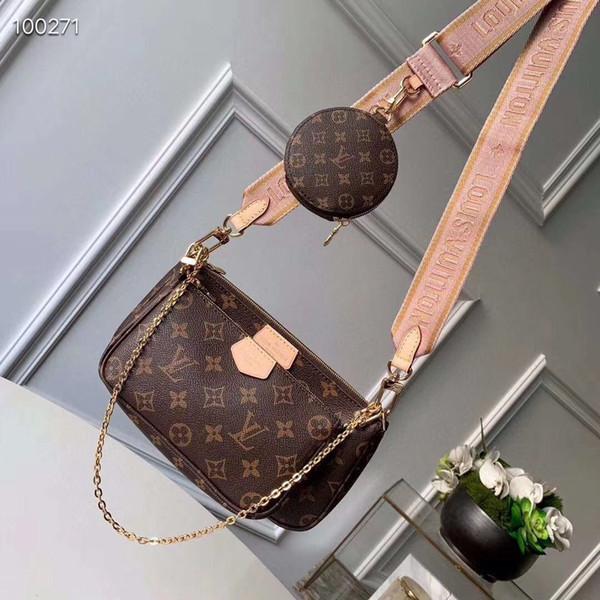 top popular 2020 Designer Handbags SOHO DISCO Bag Genuine Leather tassel zipper Mahjong bag women Crossbody bag Designer handbag Come with Box*009 2020