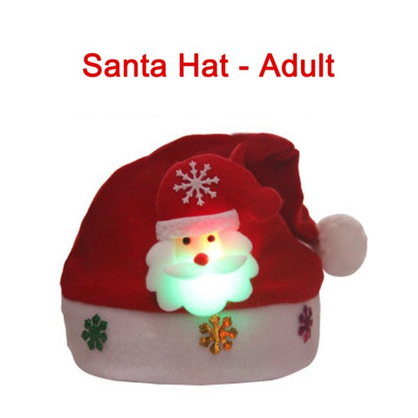 Santa Hat - Adult China 30x32cm