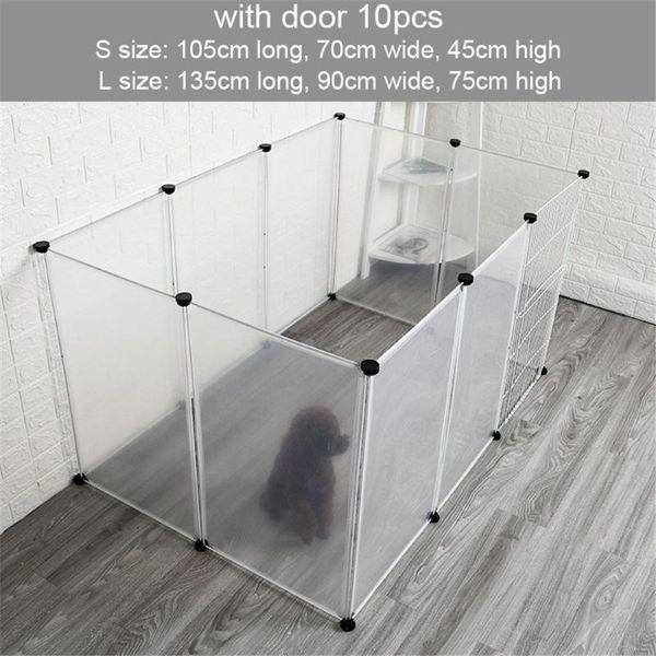 10pc fence with door