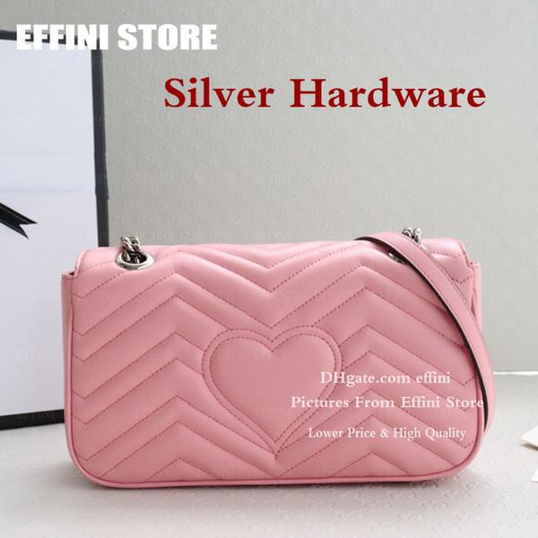 Hardware de prata rosa