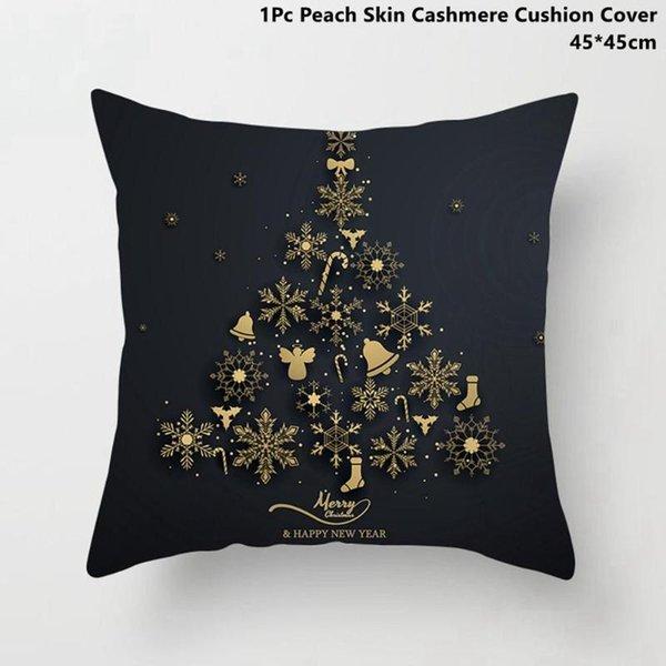 Funda de almohada de Navidad 1