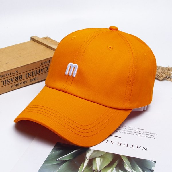 Tridimensional bordado M-naranja-6