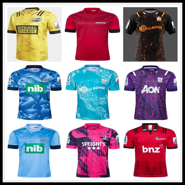 top popular 2019 2020 Chiefs Super Rugby Jersey new Zealand super Chiefs Blues Hurricanes Crusaders Highlanders 2020 Rugby Jerseys shirts 2020