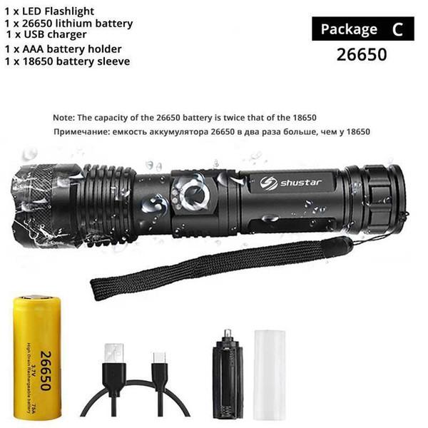 paquete de c-26650