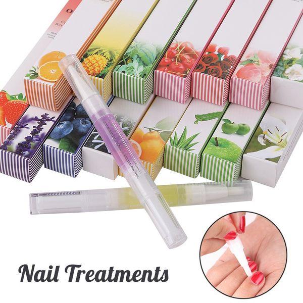top popular 15 Styles Nail Nutrition Oil Pen Nails Treatment Cuticle Revitalizer Oil Prevent Agnail Nail Art Tools Manicure Care 0053 2021