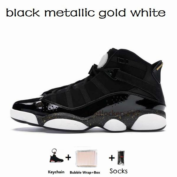 6s-36-47 preto metálico ouro branco