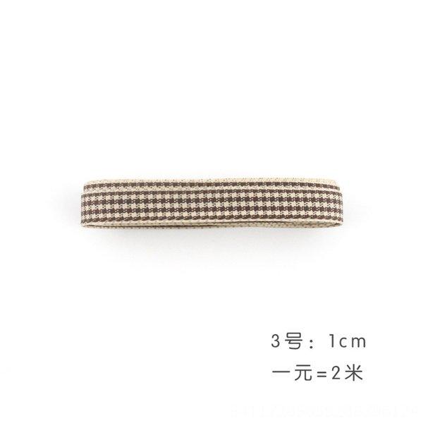 ③ tela escocesa 1 m de ancho 2 m + Precio.