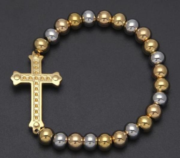 Color 1metal: oro y plata.
