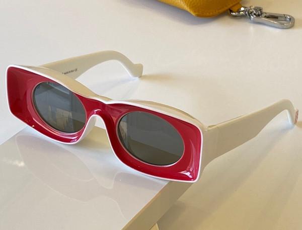 white red grey lens