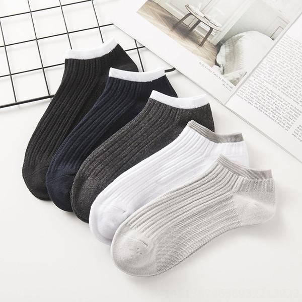 Men # 039; s Socks Double-agulha malha Vertical