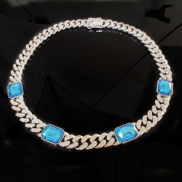50cm + Silber + Sapphire